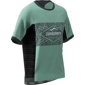 Zimtstern TechZonez SS Shirt Men granite green/pirate black/glacier grey